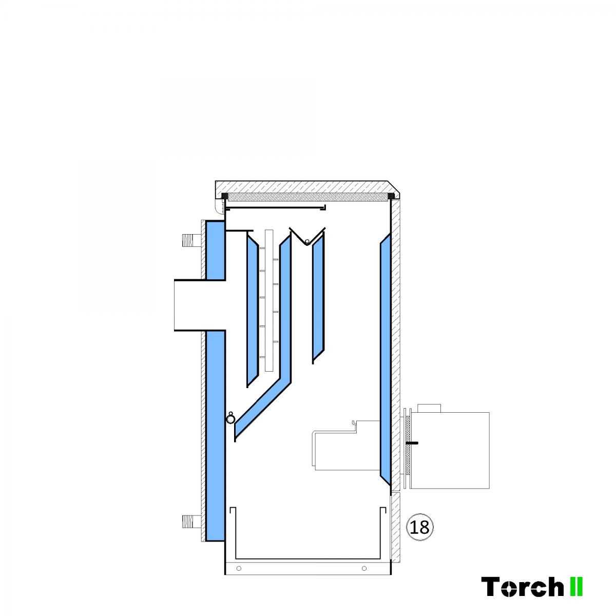 Почистване на пелетен котел Torch II - стъпка 15
