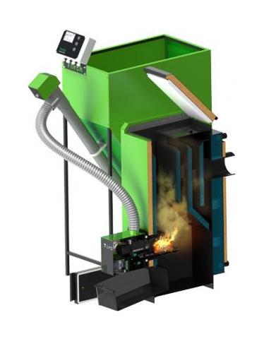 Пелетен котел Torch II 20kW с пелетна горелка Torch II 20kW